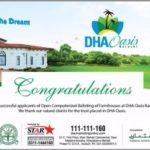 DHA Oasis Karachi Balloting Result 2015
