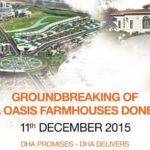 Ground Breaking of DHA Oasis Karachi Project (Farm Houses)