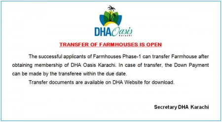 transfer-opens-for-dha-oasis-karachi-farm-houses-450×248