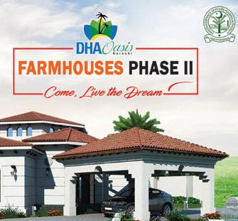 DHA Oasis Karachi Ready Farmhouses (Phase 2)
